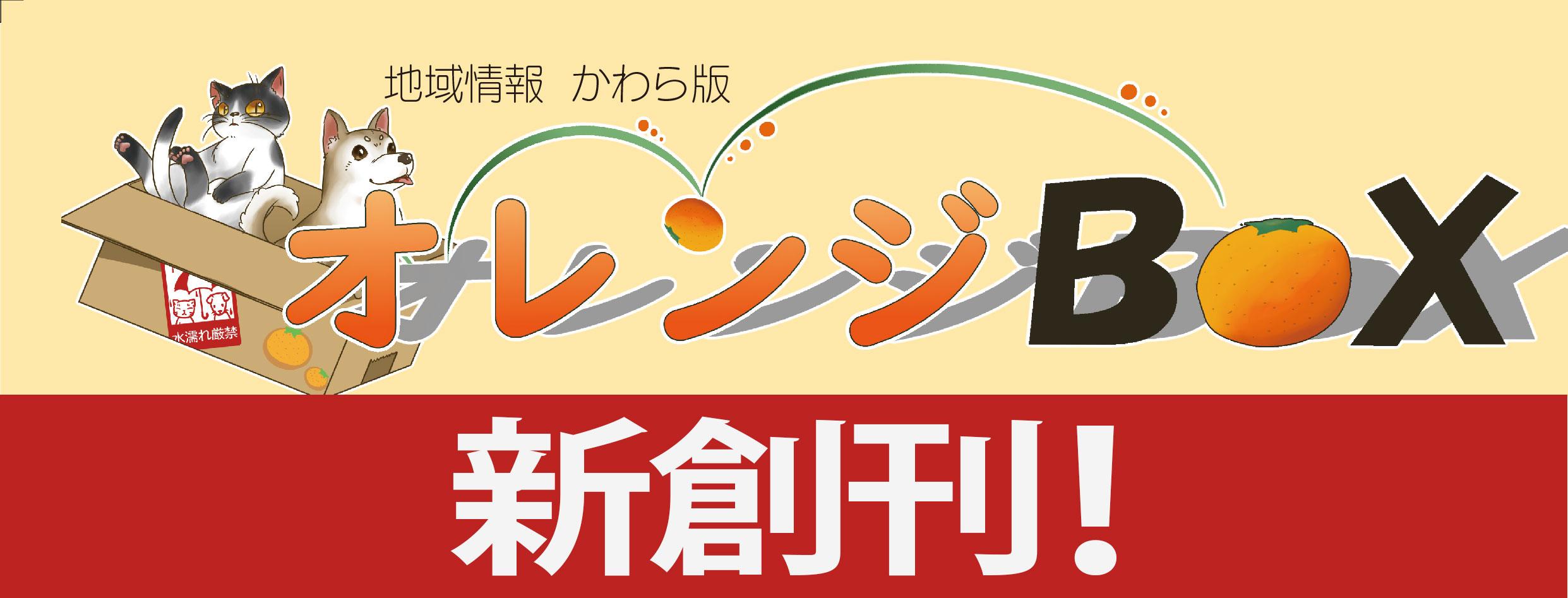 オレンジBOX新創刊